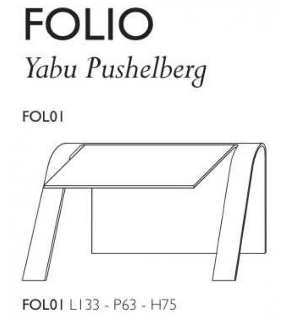 Folio Glas Italia Scrittoio