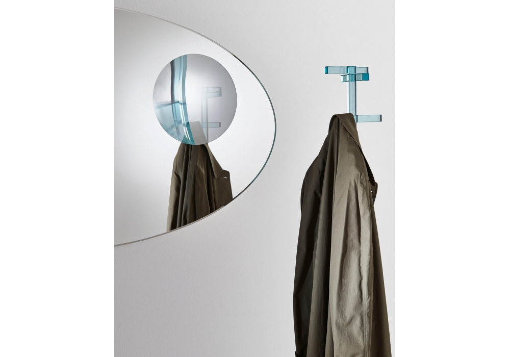 Celeste glas italia miroir milia shop for Argenture miroir