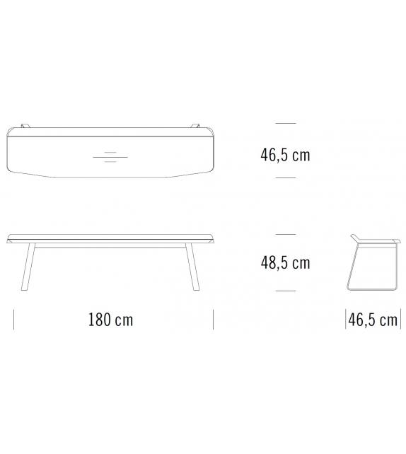 S 1094 Thonet Bench