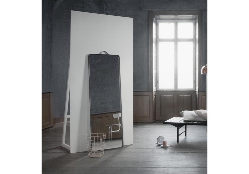 hei floor wid white modern hero mirror crate and reviews nickel colby product web barrel
