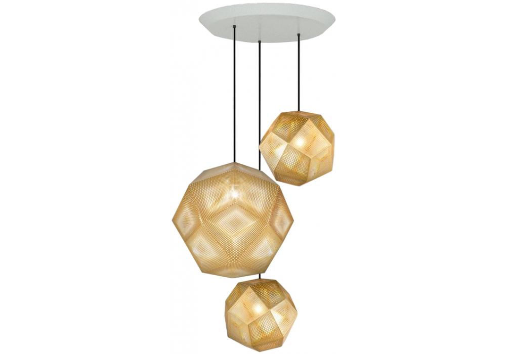 Etch tom dixon pendant system milia shop etch brass trio round tom dixon pendant system mozeypictures Gallery