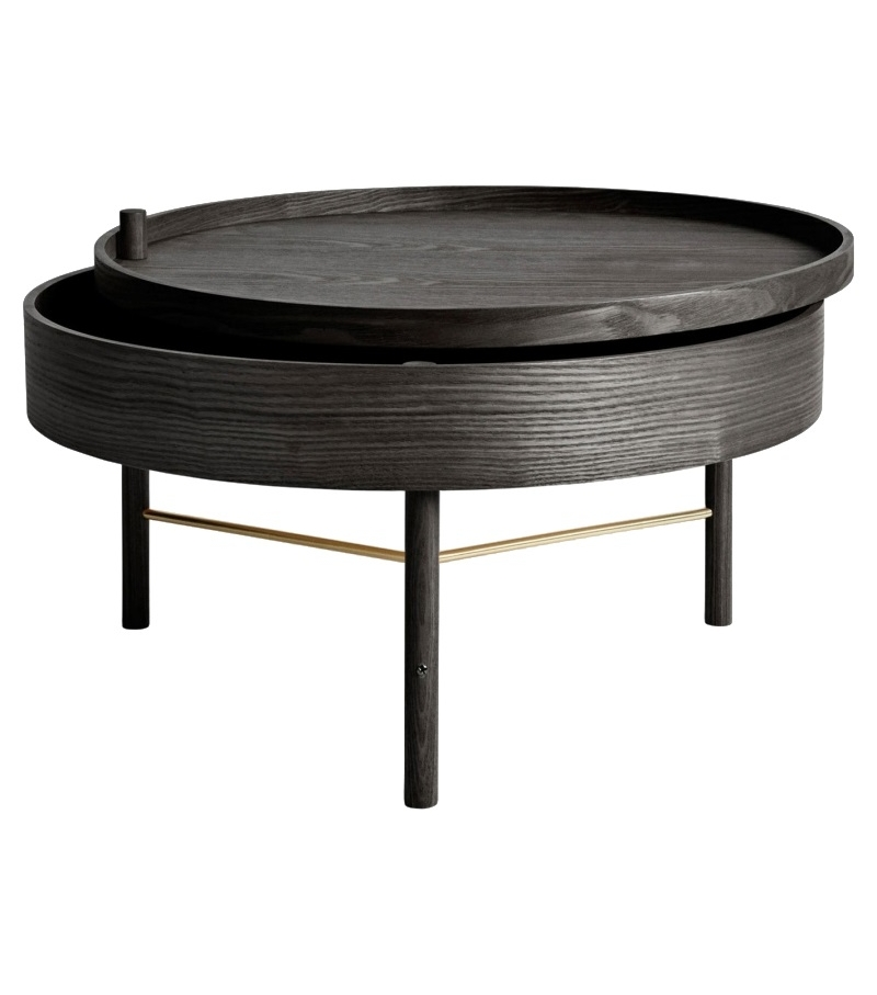 Shop Craps Coffee Table: Turning Table Menu Coffee Table