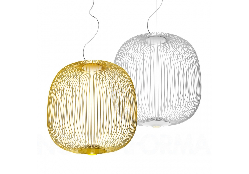 Spokes 2 foscarini lampe de suspension milia shop for Suspension de lampe
