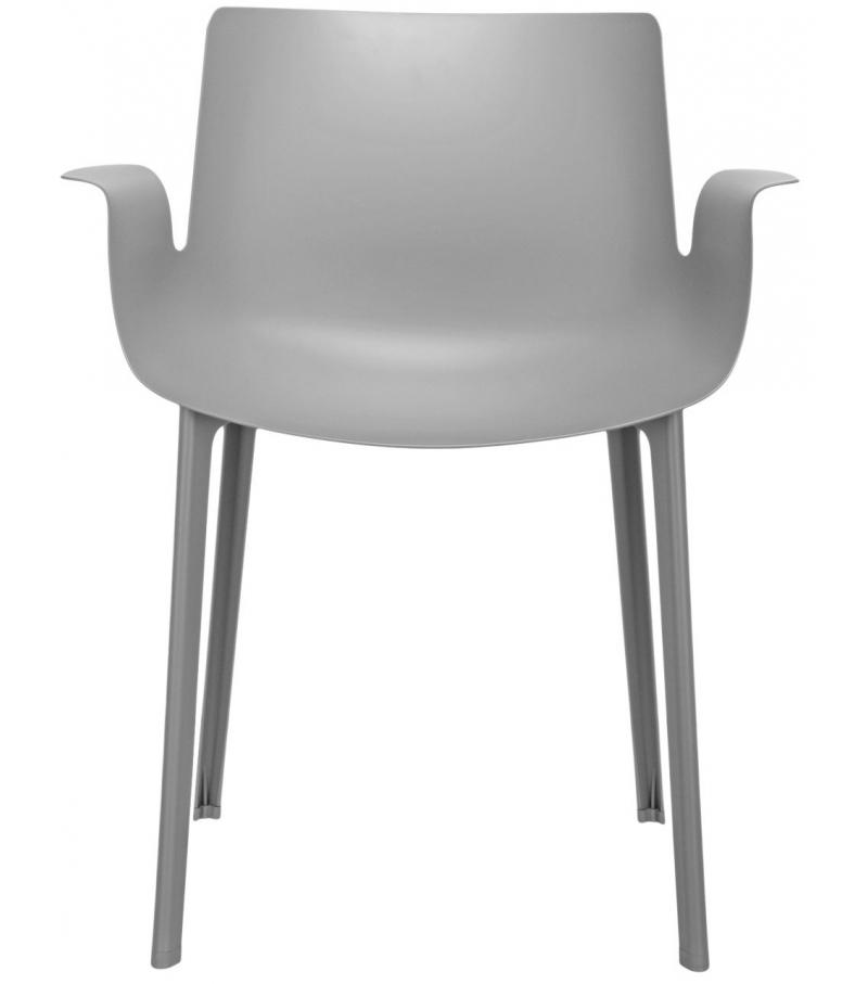 Piuma kartell small armchair milia shop for Chaise kartell