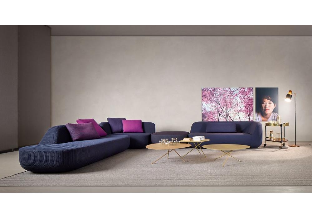 Uptown paola lenti sofa milia shop for Paola lenti