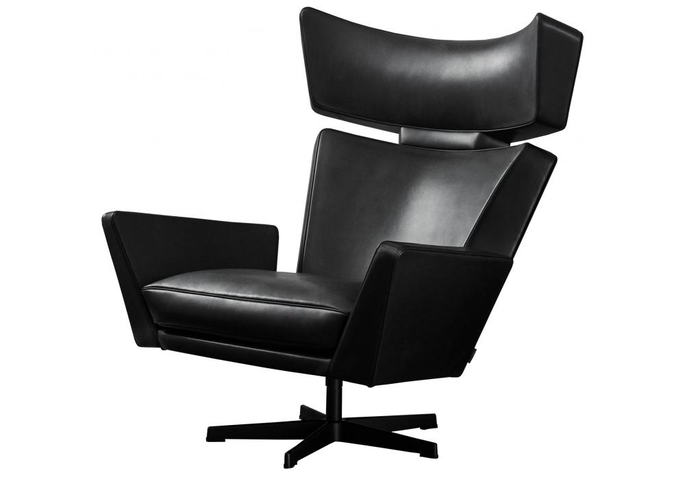 Oksen fritz hansen lounge chair milia shop for Chaise jacobsen