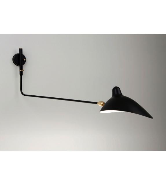 applique 1 bras droit pivotant serge mouille milia shop. Black Bedroom Furniture Sets. Home Design Ideas