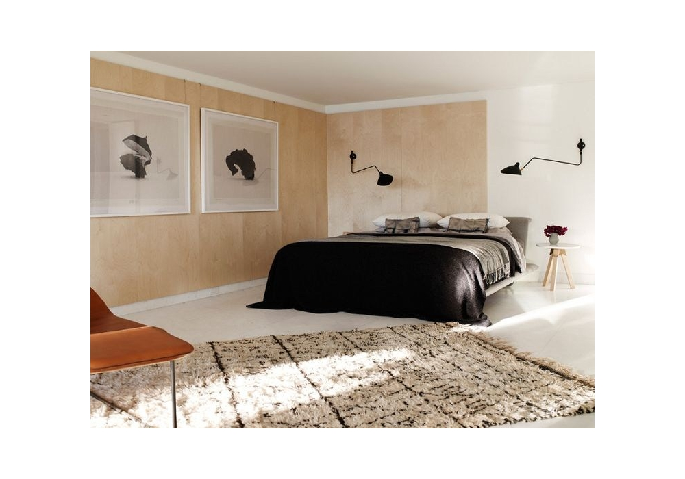 applique 1 bras pivotant courbe serge mouille milia shop. Black Bedroom Furniture Sets. Home Design Ideas