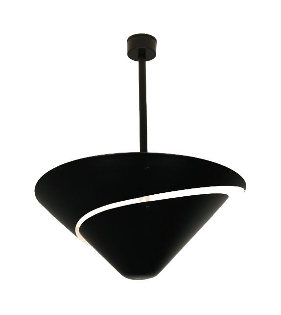 """Ceiling Lamp """"Snail"""" - Ø 60 cm Serge Mouille"""