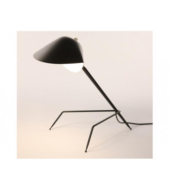 lampe de bureau tripode serge mouille milia shop. Black Bedroom Furniture Sets. Home Design Ideas