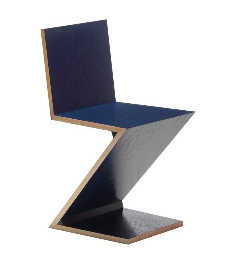 280 zig zag stuhl cassina milia shop. Black Bedroom Furniture Sets. Home Design Ideas