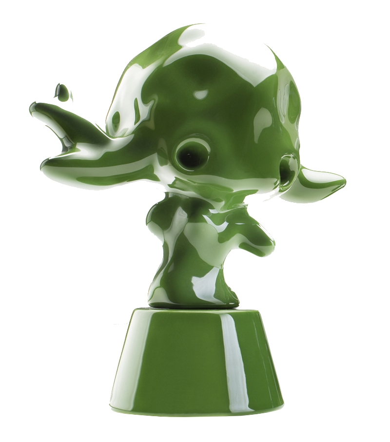 Momonsters The Part of Zucchini Bosa Skulptur