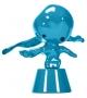 Momonsters Blue Chute Bosa Sculpture