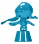 Momonsters Blue Chute Bosa Skulptur