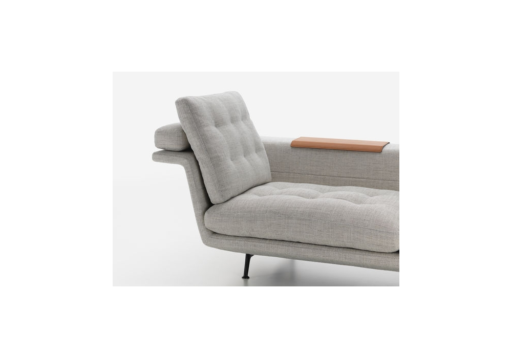 Grand sof vitra chaise longue milia shop for Chaise longue furniture