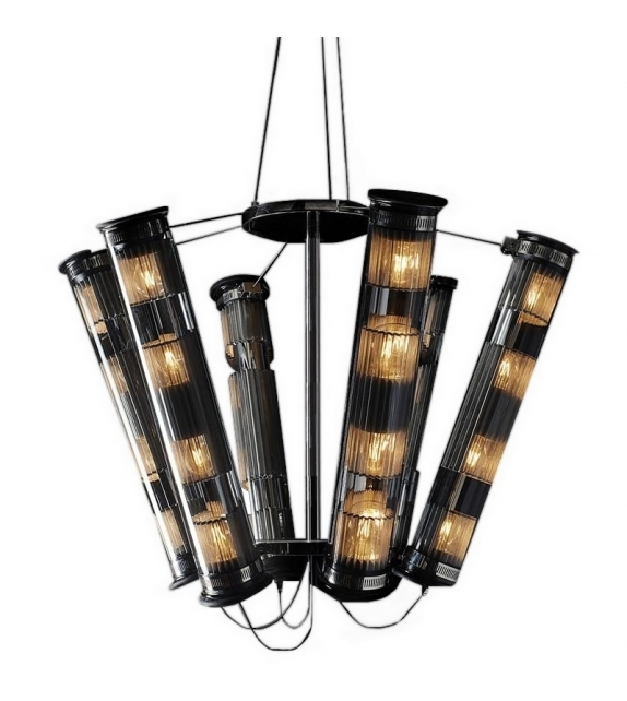 In The Tube Solar 6-700 DCW Éditions Chandelier
