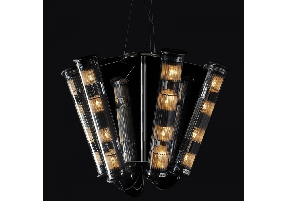 in the tube solar 6 700 chandelier dcw ditions milia shop. Black Bedroom Furniture Sets. Home Design Ideas