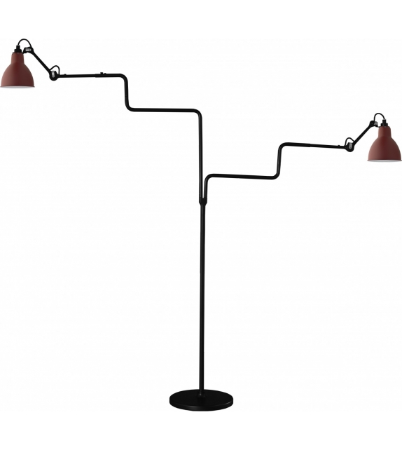 N°411 Double DCW Éditions-Lampe Gras Floor Lamp