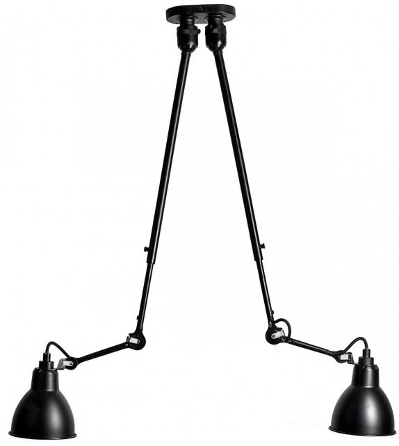 N°302 Double DCW Éditions-Lampe Gras Lámpara de Suspensión