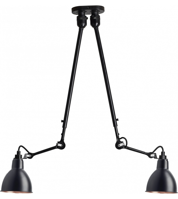N°302 Double DCW Éditions-Lampe Gras Suspension Lamp