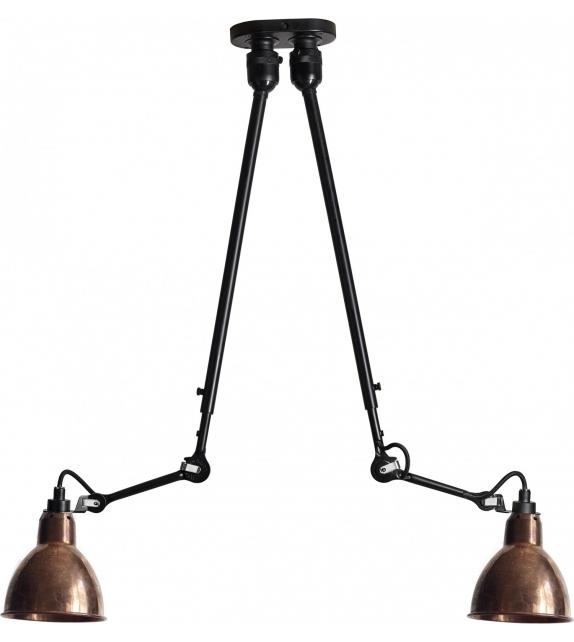 N°302 Double DCW Éditions-Lampe Gras Hängeleuchte