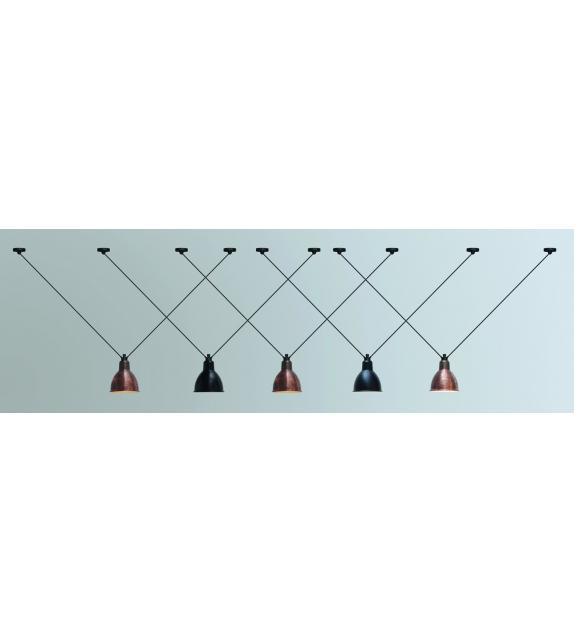N°323 Round DCW Éditions-Lampe Gras Hängeleuchte