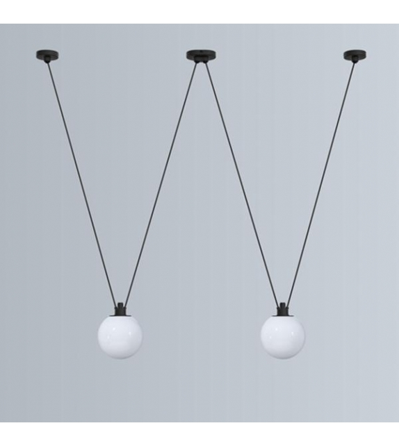 N°324 Glass Ball DCW Éditions-Lampe Gras Suspension Lamp