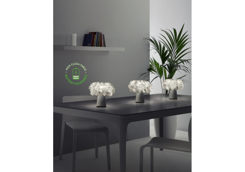 Clizia Battery Slamp Table Lamp - Milia Shop