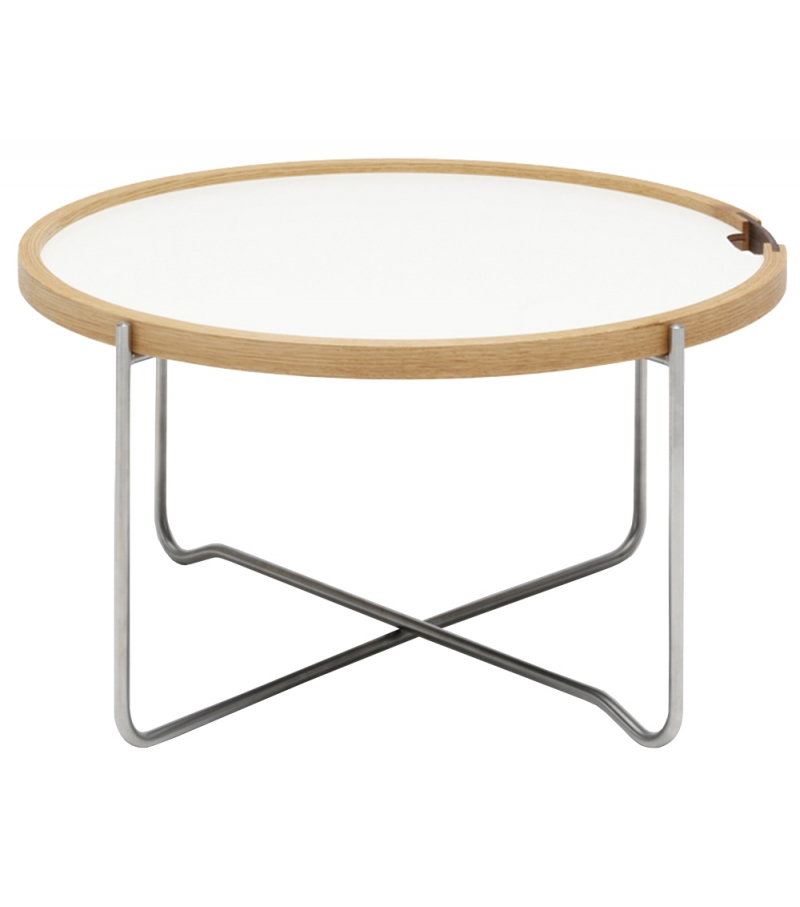 Ch417 Tray Table Carl Hansen Søn Coffee
