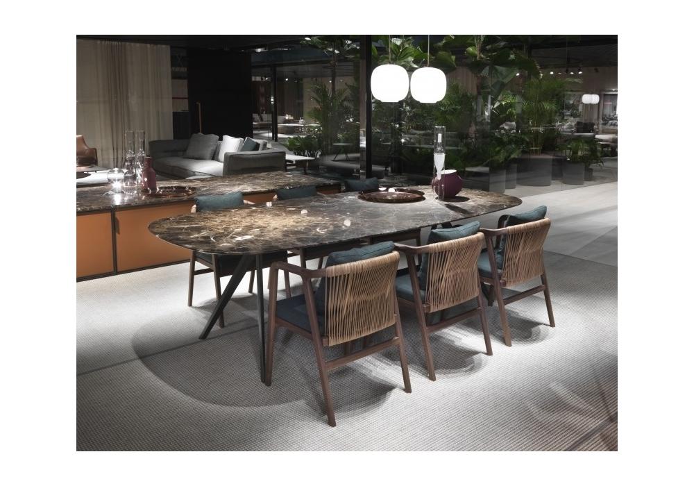 Vasche Da Bagno Zefiro : Zefiro flexform tavolo milia shop