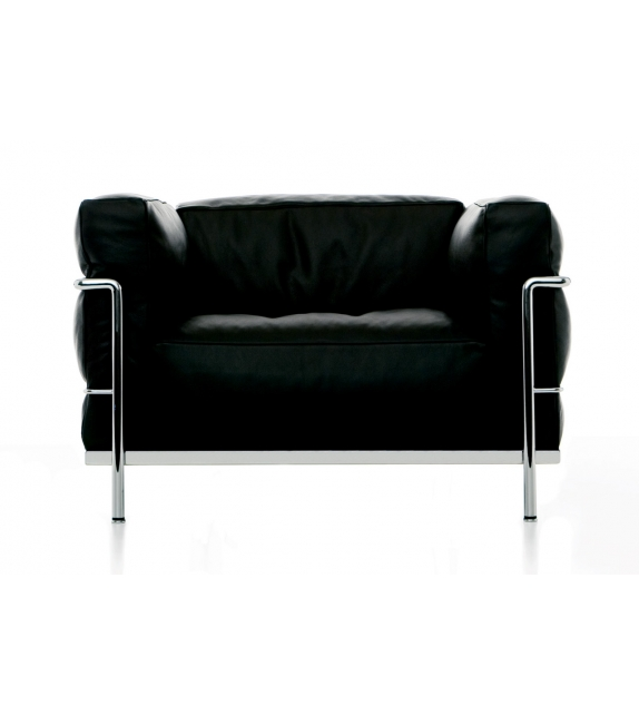 lc3 fauteuil cassina milia shop. Black Bedroom Furniture Sets. Home Design Ideas