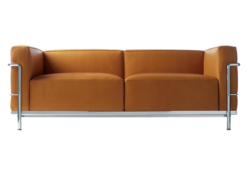 lc3 canap 2 places cassina milia shop. Black Bedroom Furniture Sets. Home Design Ideas