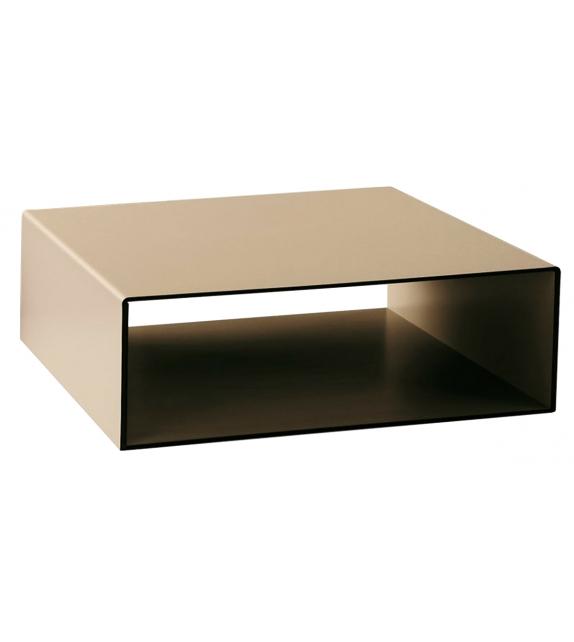 Moore Ivano Redaelli Leather Coffee Table