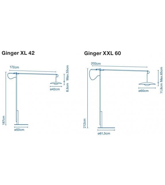 Ginger XL/XXL Marset Floor Lamp