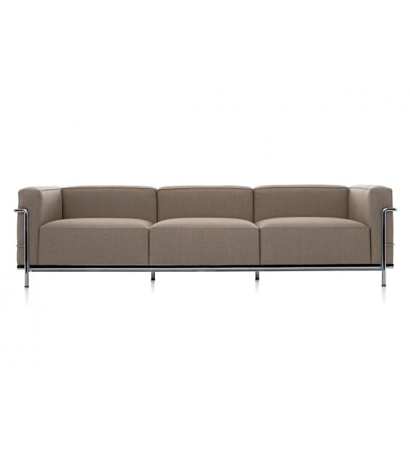 lc3 dreiersofa cassina milia shop. Black Bedroom Furniture Sets. Home Design Ideas