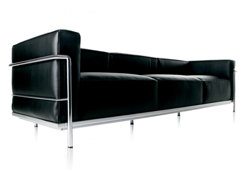Lc3 divano 3 posti cassina milia shop for Cassina divani