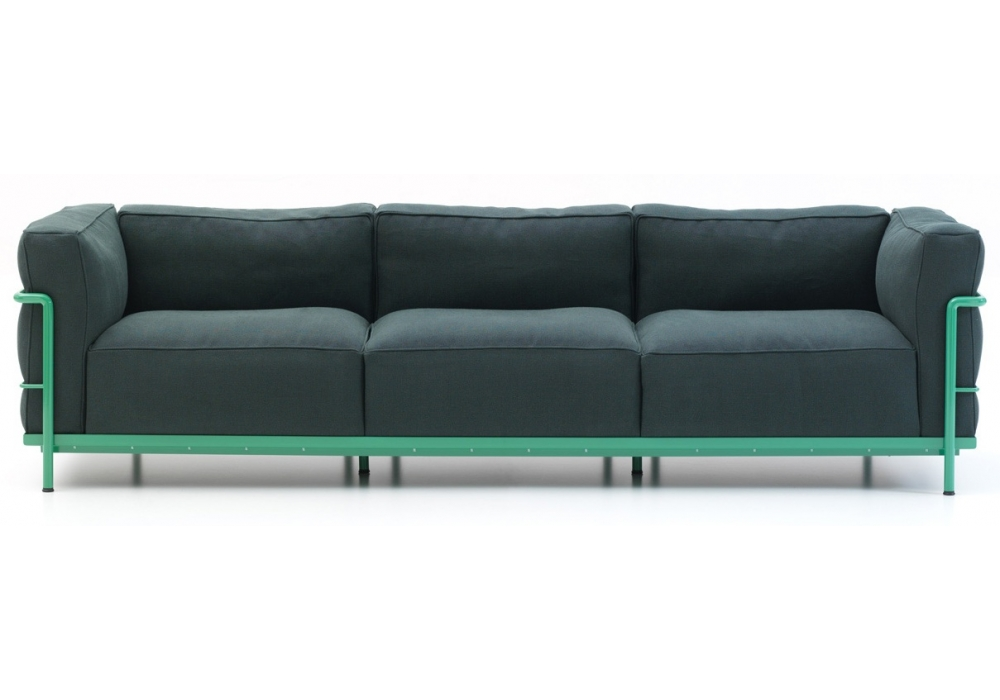 LC2 Three - Seater Sofa Cassina - Milia Shop