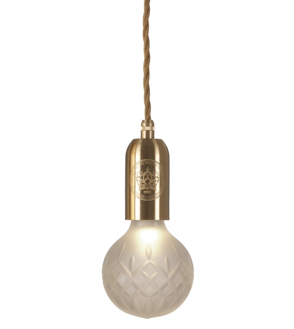 Frosted Crystal Bulb Suspension