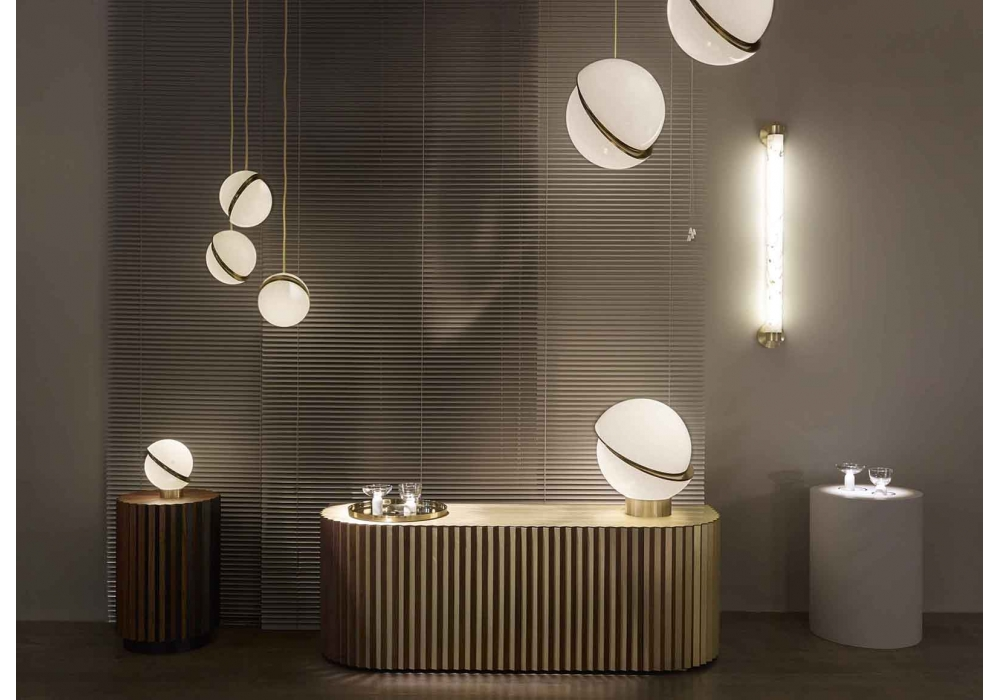 Mini Crescent Light Lee Broom Pendant Lamp Milia