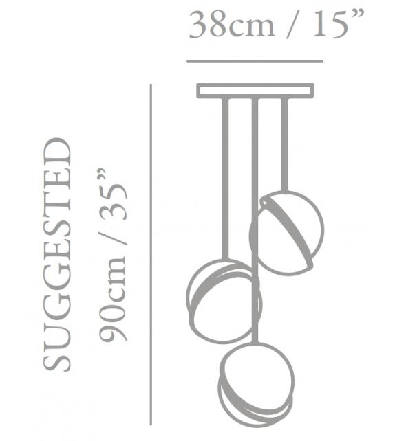 Mini Crescent Chandelier Lee Broom Suspension