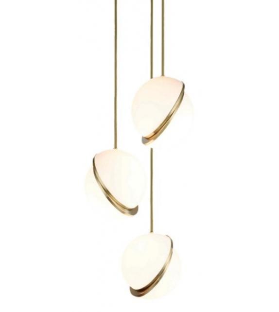 Mini Crescent Chandelier Lee Broom Lámpara de Suspensión