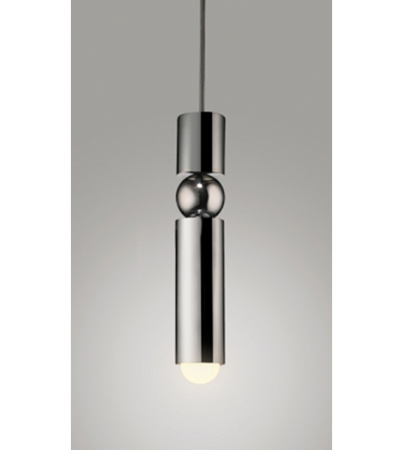 Fulcrum Light Chrome Lee Broom Pendant Lamp