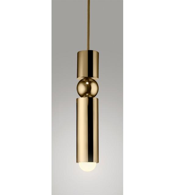Fulcrum Light Brass Lee Broom Pendant Lamp