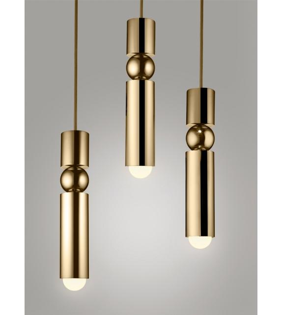 Fulcrum Light Brass Lee Broom H 228 Ngeleuchte Milia Shop
