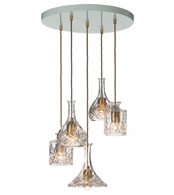 Square Decanterlight Lee Broom Lampada a Sospensione