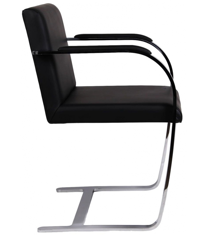 Brno Chair - Flat Bar Poltroncina Knoll