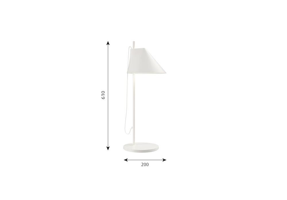 yuh louis poulsen tischleuchte milia shop. Black Bedroom Furniture Sets. Home Design Ideas