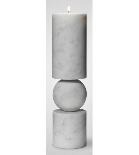 Fulcrum Marble Lee Broom Soporte de Vela