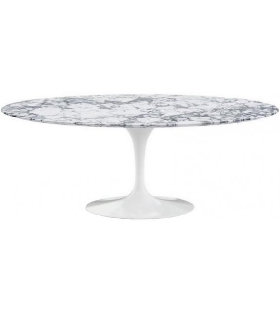Saarinen Oval Tisch aus Marmor Knoll