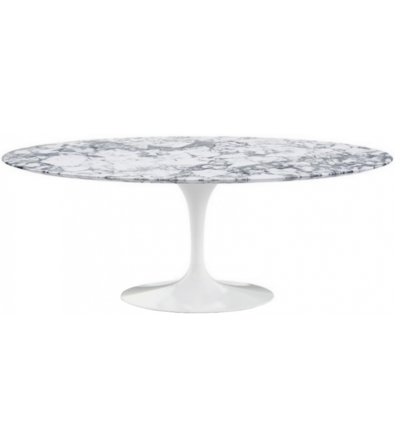 Saarinen Oval Tisch aus Marmor Knoll - Milia Shop